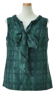 Tory Burch Women's Clothing Patterned Top Green