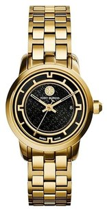 Tory Burch Women's Gold Tone Stainless Steel Strap Watch TRB1024