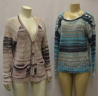 Tracy Reese Blue Set Of Sweater