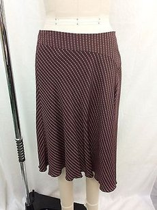 Trina Turk Brown Pink Chain Skirt Multi-Color