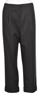 Trina Turk Womens Speckled Dress Cropped Career Trousers Wtw Pants