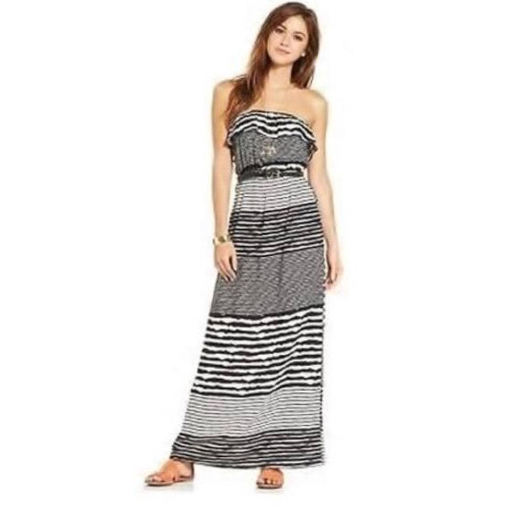 Trixxi high-low maxi dress