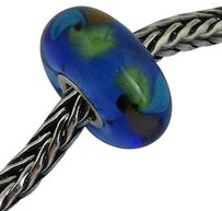 Trollbeads Trollbeads Ooak Murano Glass Unique Bead Charm 115 13mm Diameter