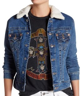 True Religion Denim Womens Jean Jacket