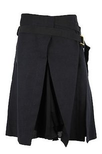 Trussardi Womens Wrap Sarong Skirt black