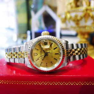 Tudor Ladies Tudor Princess Date Two-tone Gold Stainless Ref 92413n Watch 1993