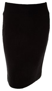 Tuleh Wool Pencil Skirt Black
