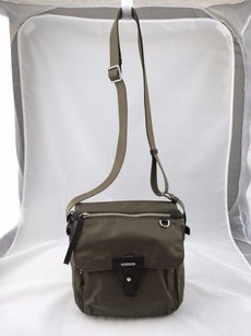 Tumi Nylon Zip Top Flap Cross Body Bag