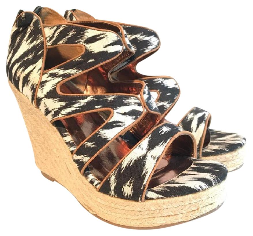 Cynthia Vincent Platform Espadrille Wedges outlet shop offer outlet best store to get cheap sale store 75lYYQ2