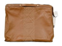 Twelfth St. by Cynthia Vincent Camel Etched Bankers 170708ch Brown Clutch