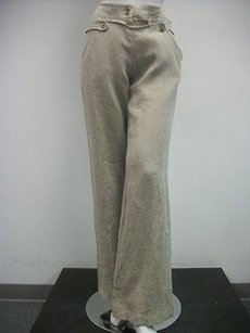 Twelfth St. by Cynthia Vincent Street Dress Natural 100 Linen 2271 Pants