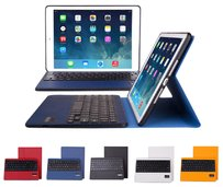 uanergent iPad Air Keyboard Covers With Keyboard Folding Folio Case