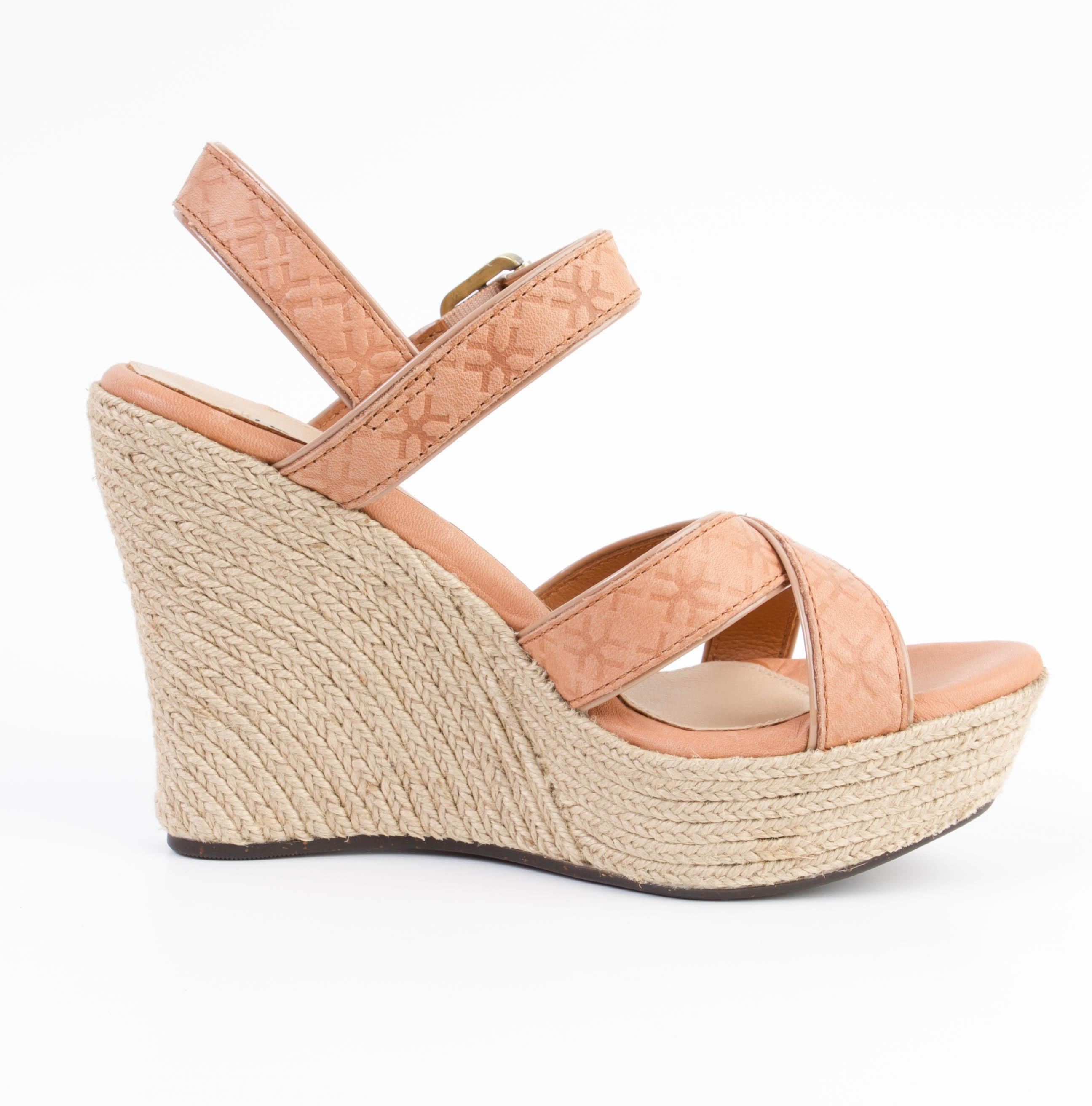 get to buy UGG Australia Embossed Platform Wedges pay with paypal sale online 4xs3xYG