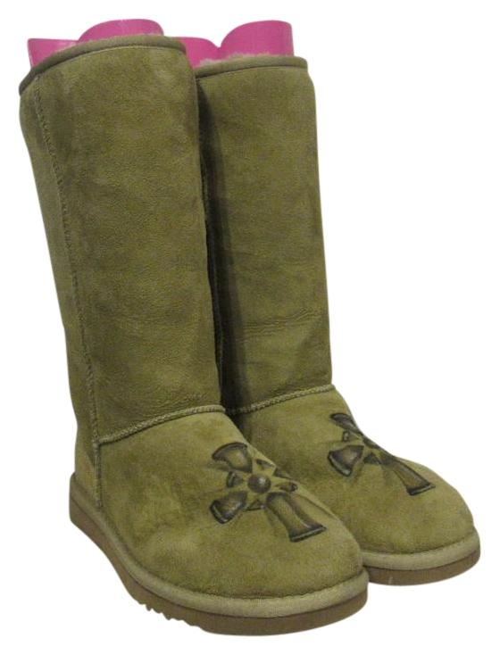 UGG Australia Green, Tan, Brown, Black Boots ...