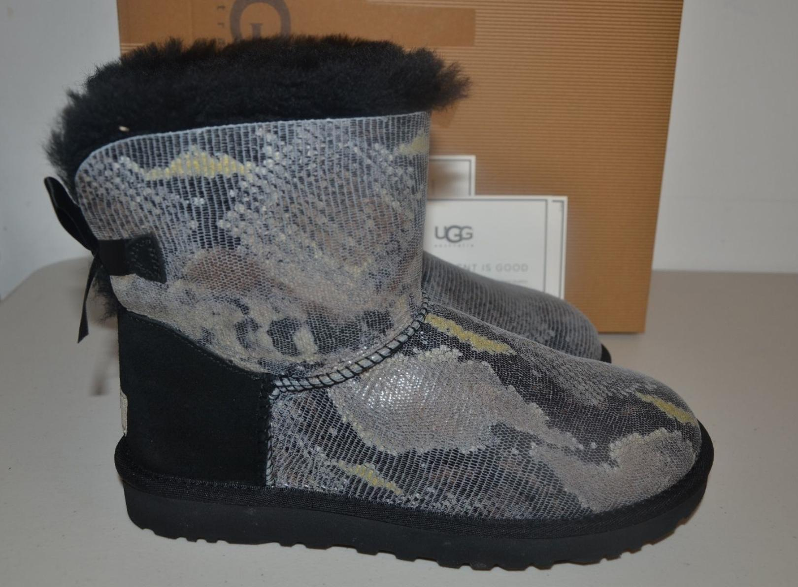 5af6697f6e8 wholesale ugg bailey bow gray size 8 545c7 8dee0