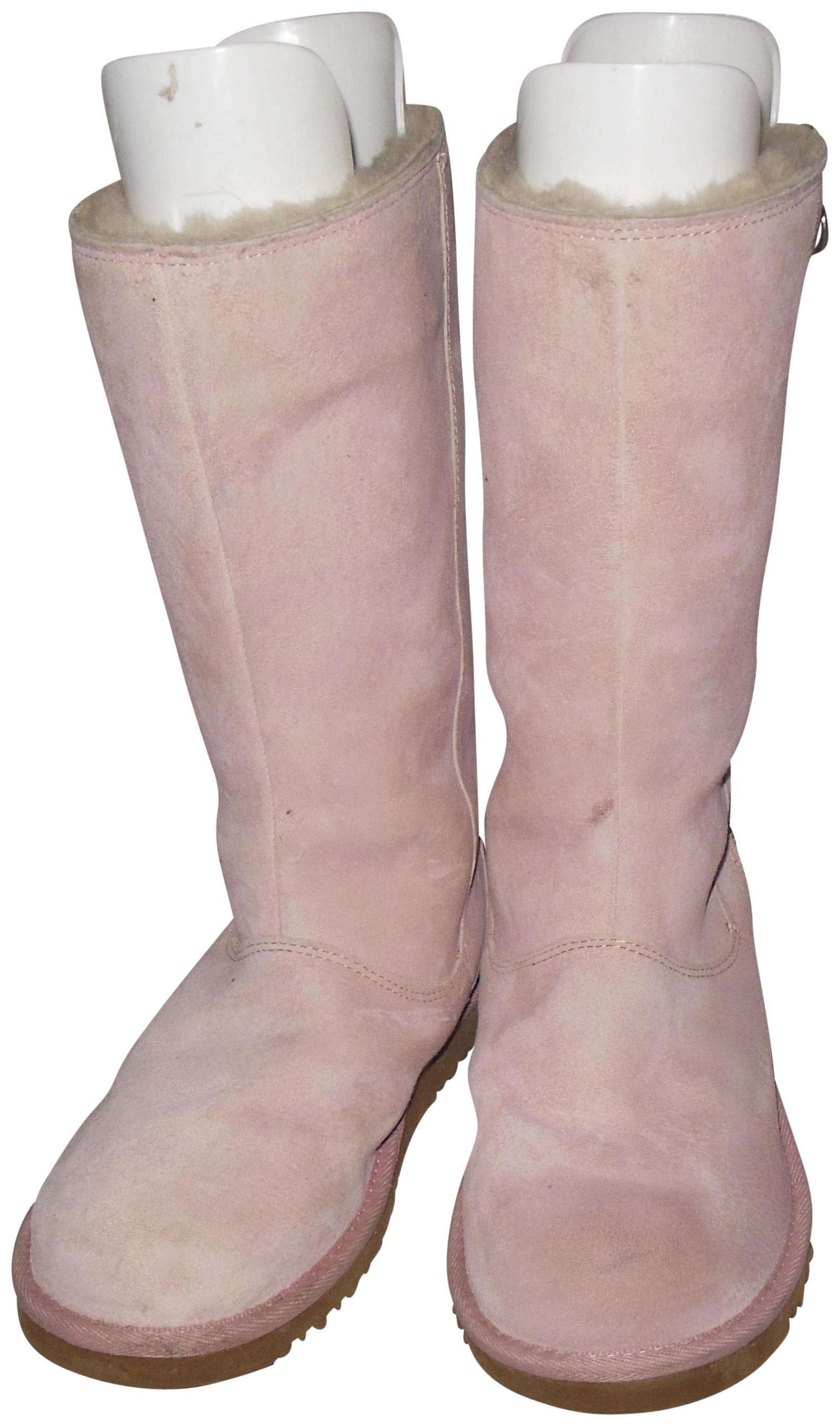 0c6598ed67a clearance ugg light pink boots 7e860 5445a