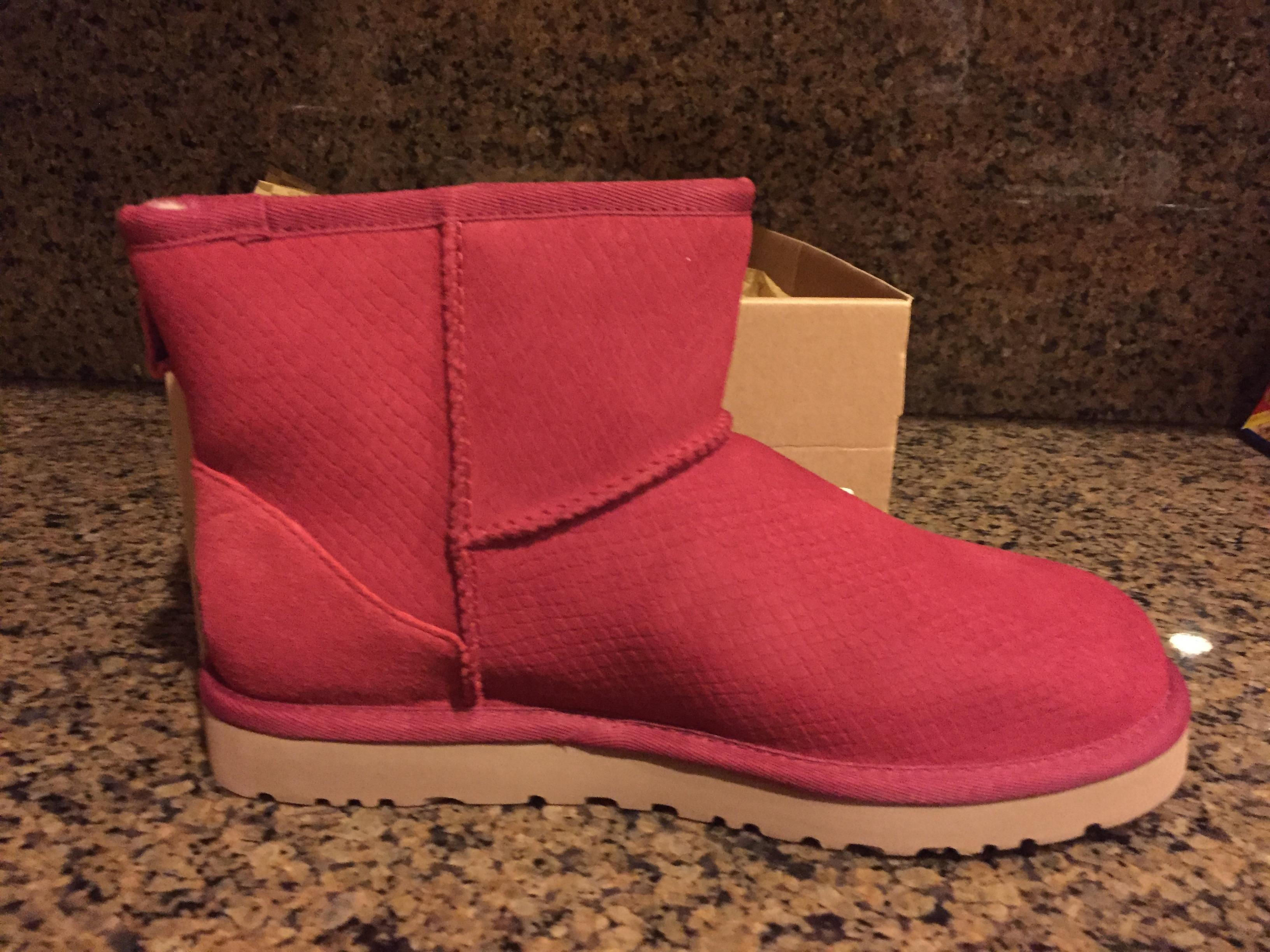 d1897094a72 sale ugg australia women s classic mini exotic scales boot number ...