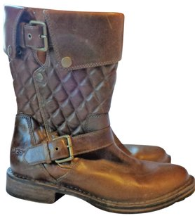 UGG Australia Quilted Brown Boots