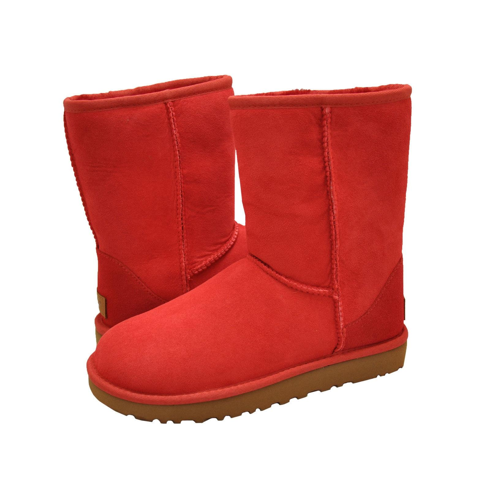 UGG Australia For Her 1016223 Size 6 Ribbon Red Boots ...