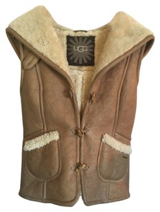 UGG Australia Ugg Sheepskin Lambskin Sheepskin Ugg Clothing Uggs Sheepskin Clothing Lamb Ugg Leather Vest