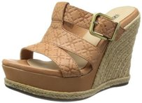 UGG Australia Womens Hedy Putty Emboss Sandals