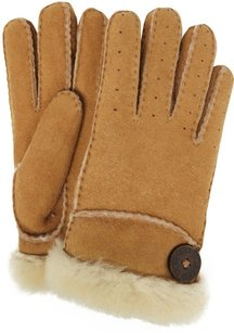 UGG Boots UGG Classic Bailey Glove - Chestnut, Medium, Shearling Sheepskin