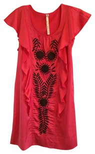 Uncle Frank short dress Coral on Tradesy