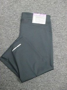 Under Armour Under Armour Black Poly All Season Semi Fit Athletic Crop Pants 2497