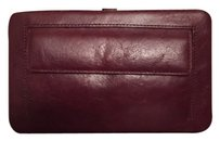 Brown Leather Structured Wallet