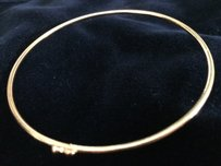 Other Gold Plated I Love You To The Moon And Back Bangl