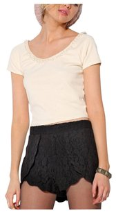 Urban Outfitters Lace Summer Textured Mini Mini/Short Shorts