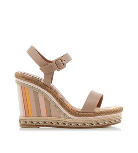 Valentino Native Couture Water Rose Platforms