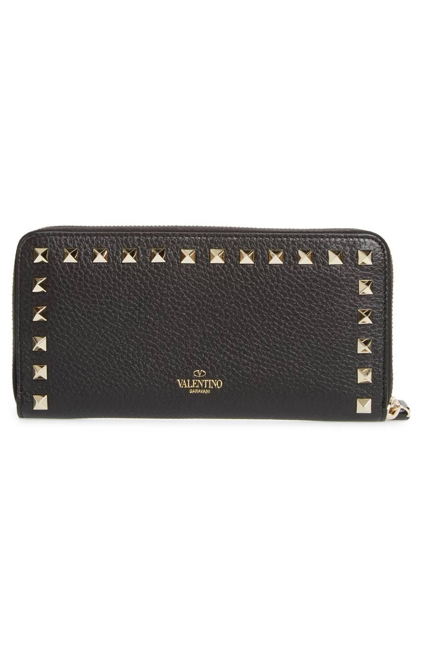 Wallet with studs Valentino