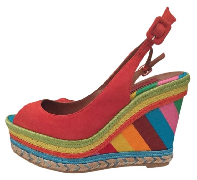 Valentino Espadrilles Wedges Size US 7 Regular (M, B)