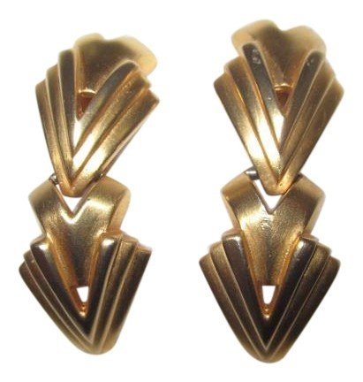Valentino Gold-plated Clip Earrings UO4K34PU