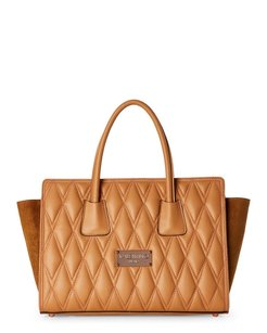 Valentino Satchel in camel