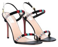Valentino Tribe Embroidered Multi Sandals