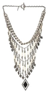 Vanessa Mooney Vanessa Mooney The Midnight Silver Statement Necklace