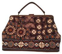 Vera Bradley Satchel in Brown