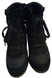 Vera Wang Sneakers Black Wedges
