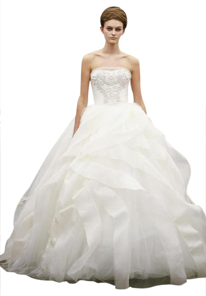 Vera wang liesel wedding dress on sale 29 off wedding for Price of vera wang wedding dress