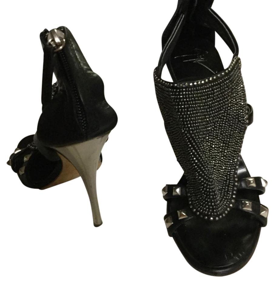 Vero Cuoio black and silver Platforms