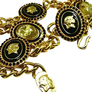 Versace Authentic Versace Medusa Medallion Chain Belt