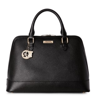 Versace Collection Satchel in Black