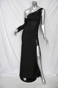 Blacks Maxi Dress by Versace Gianni Couture Black
