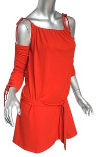 Versace short dress Reds Gianni Couture Womens on Tradesy
