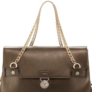 Versace Tote in Medium Brown