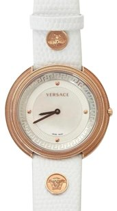 Versace Versace Medusa White Embossed Leather Rose-gold Opal Watch Wristwatch Box
