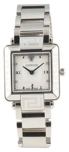 Versace VERSACE Women's Swiss Made Silver Plated Stainless Steel Watch