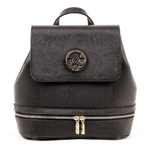 Versace Zipper Buckle Removeable Convertible Backpack